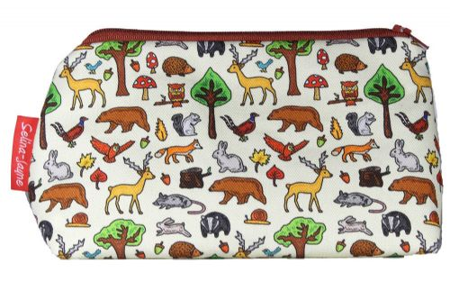 Selina-Jayne Woodland Animals Limited Edition Designer Cosmetic Bag